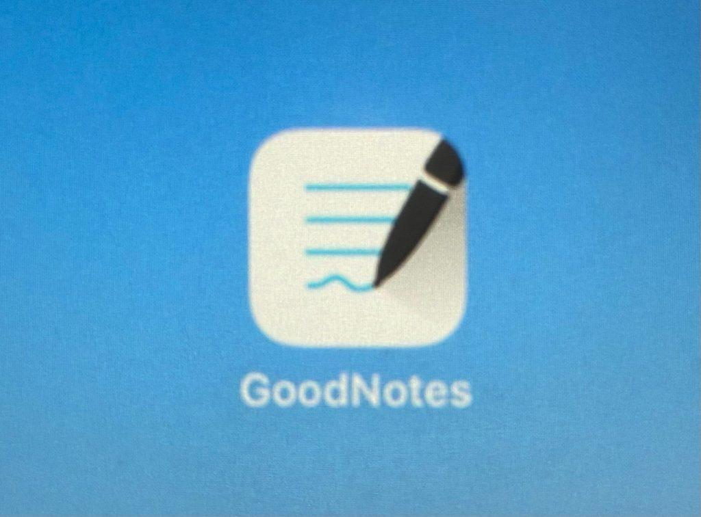 ipadアプリ「Goodnotes」